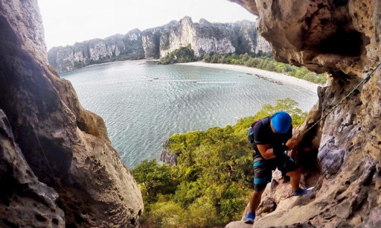Rock Climbing  - Railay 1
