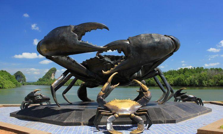 head-black-crab